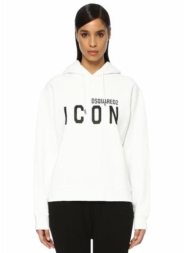 Dsquared2 Sweatshirt Beyaz